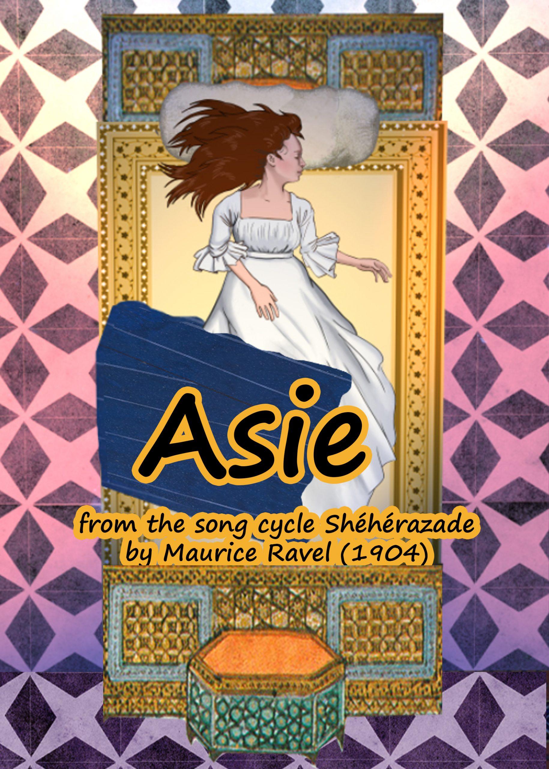 """Asie""by Maurice Ravel (Shéhérazade) Music Video"